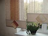 Японські панельки жатка коричневі, фото 2