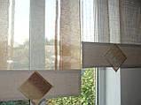 Японські панельки жатка коричневі, фото 3