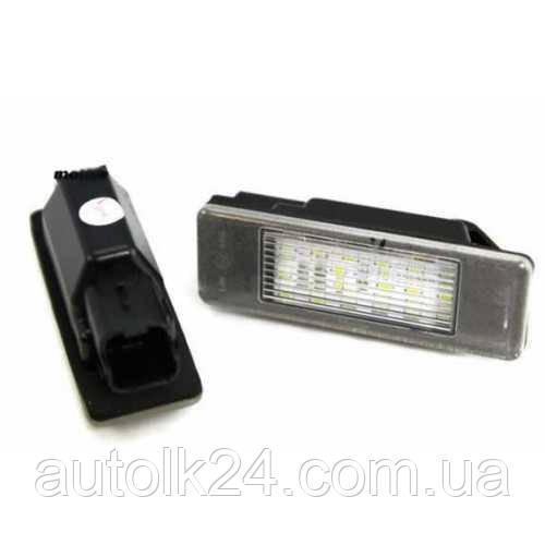 LED Подсветка номера Peugeot