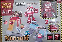 Игровой набор гараж паркинг Роботы поезда