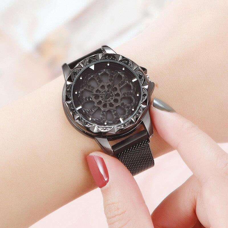 Часы Rotation Watch ЧЕРНЫЕ