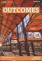 Outcomes. Pre-Intermediate Student's book (+ DVD)