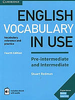 Книга English Vocabulary in Use Pre-intermediate and Intermediate Book with Answers and Enhanced eBook. Vocabulary Reference and Practice