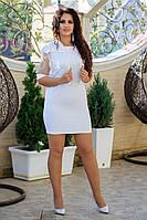 Женский Костюм платье+пиджак Батал, фото 1
