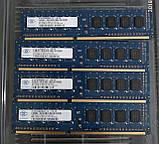 Оперативная память Nanya 2gb ddr3 PC3-10600U 1333Mhz для ПК, фото 3