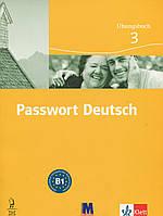 Passwort Deutsch 3. Зошит для вправ. Курс для вивчення німецької мови для дорослих