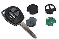 Ключ для OPEL Agila 2 кнопки 433Mhz chip ID46, фото 1