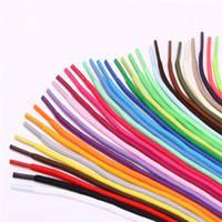 Шнурки Цветные-Круглые(Синтетика)