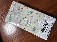 Простынь на резинке трикотажная MOZ Турция 100х200+25 см