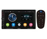Автомагнитола на Андроиде с GPS навигатором FANTOM FP-7095  2 Din MP5 Black/Multicolor