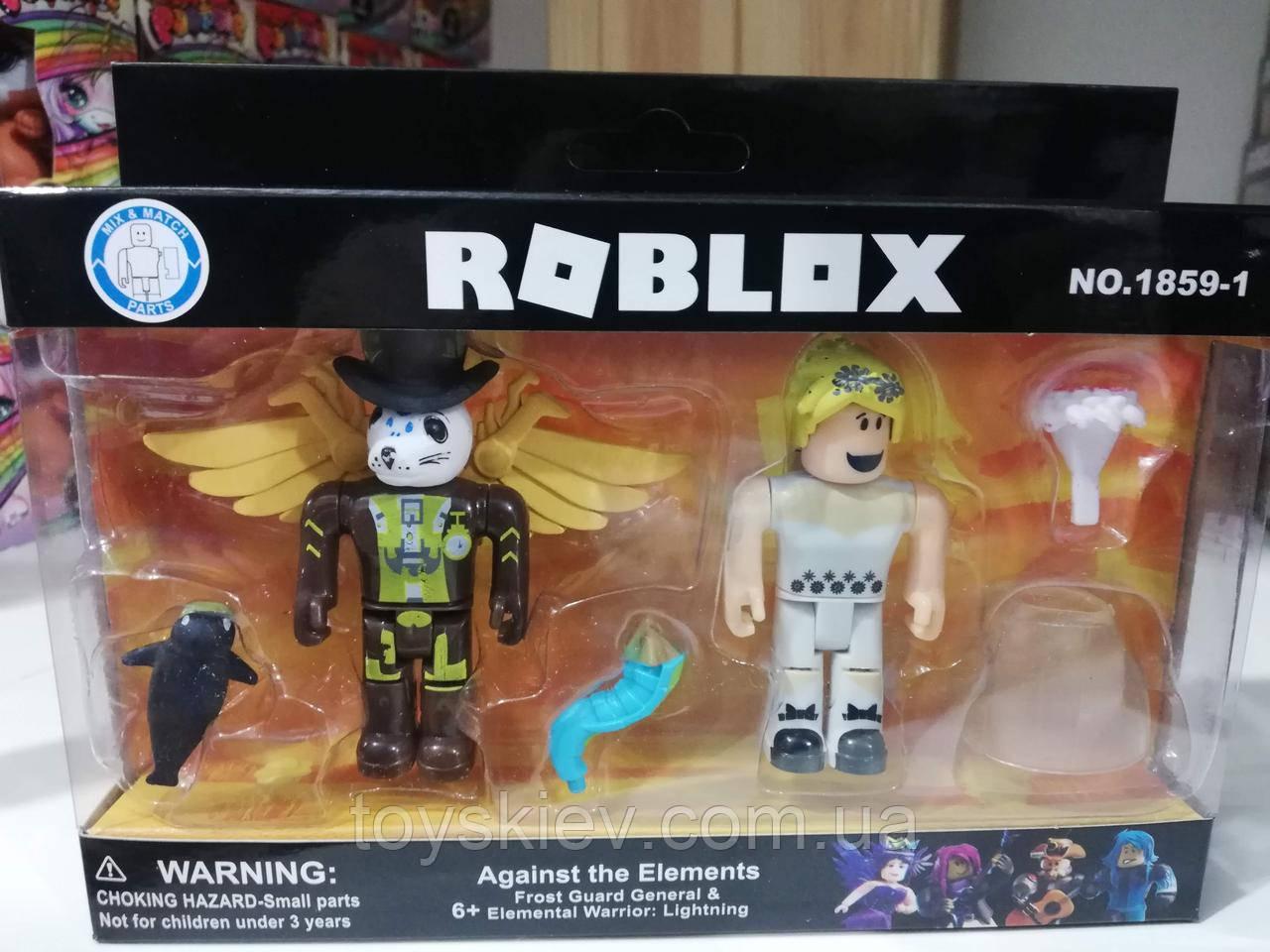 Игровой набор Роблокс фигурки 2 персонажа и аксесуары Roblox