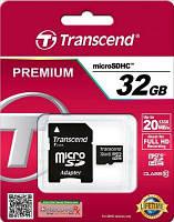 Карта памяти Transcend 32Gb microSDHC Class10