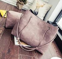Женская сумка-шоппер с кошельком, фото 1