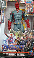 Фигурка Marvel Супергероя Вижен 29 см, фото 1