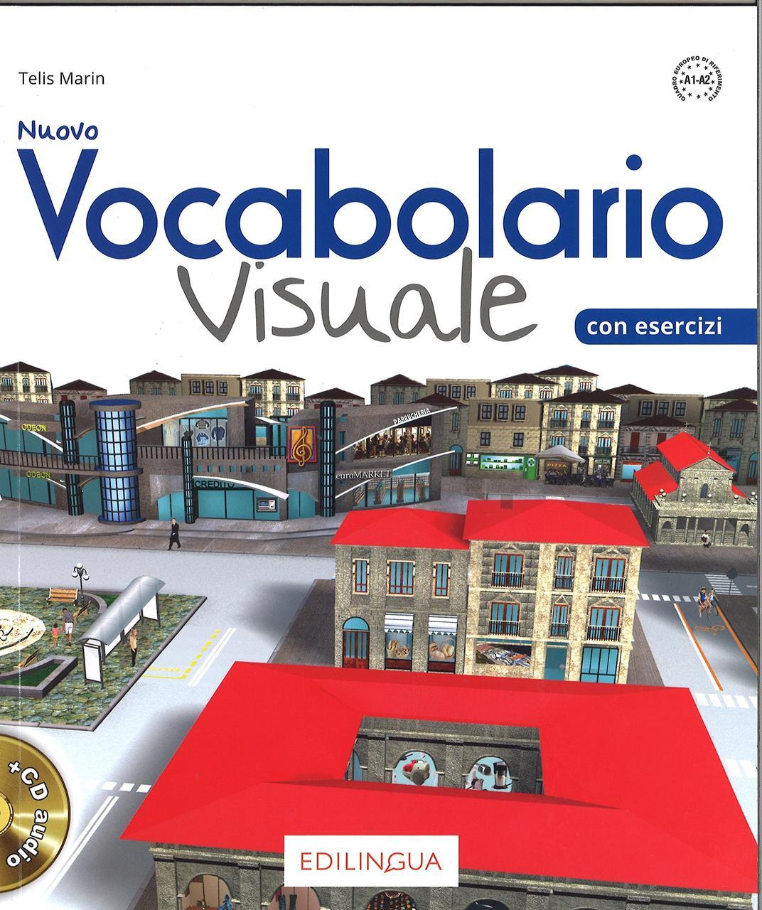 Vocabolario Visuale Nuovo (A1-A2) Libro dello studente ed esercizi + CD audio
