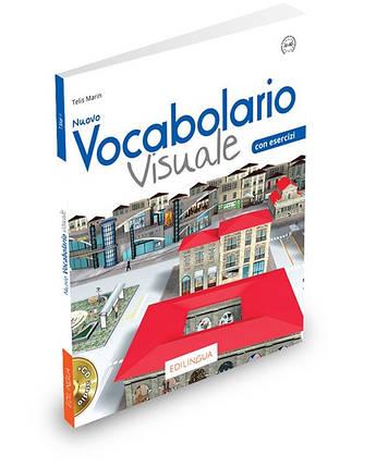 Vocabolario Visuale Nuovo (A1-A2) Libro dello studente ed esercizi + CD audio, фото 2