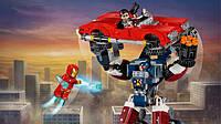 КонструкторBela Супергерои 10674 Железный человекСтальной Детройт наносит удар