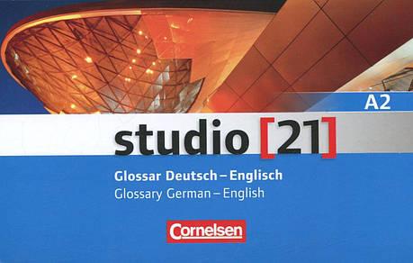 Studio 21 A2. Glossar Deutsch-Englisch / Glossary German-English, фото 2
