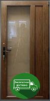 Пластиковые межкомнатные двери с замком, ламинация, фото 1