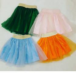 Фатиновая юбка 40-50см для девочки.