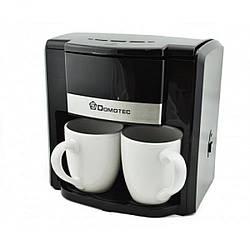 Многофункциональная Кофеварка Domotec Германия 500 Вт 2 чашки Кавоварка