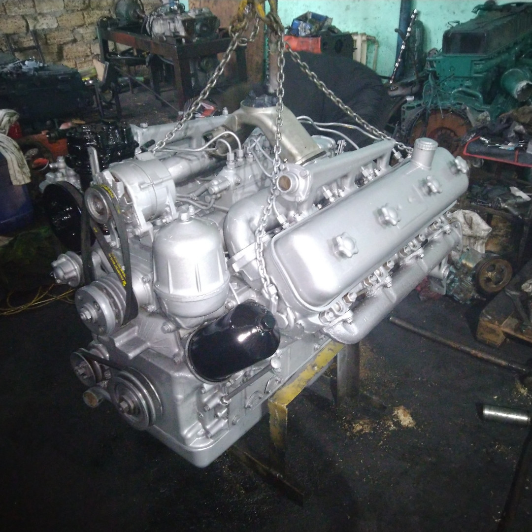 Ремонт двигателей: ЯМЗ, ММЗ