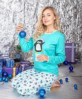 Теплая пижама молодежная  ТМ Antana модель 54 ( XL )