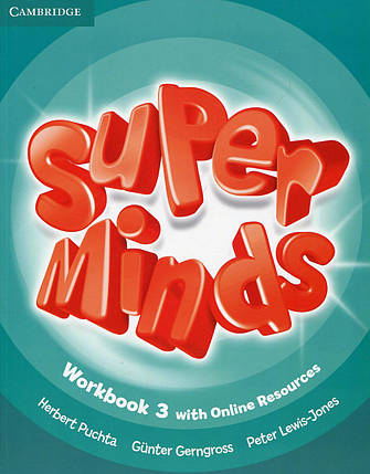 Super Minds Level 3 Workbook with Online Resources, фото 2