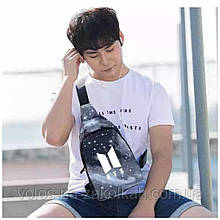Сумка банан рюкзак мини бананка унисекс BTS K-Pop Сумка через плечо