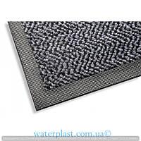 Грязезащитный коврик на резиновой основе серый,k401-60х85-grey