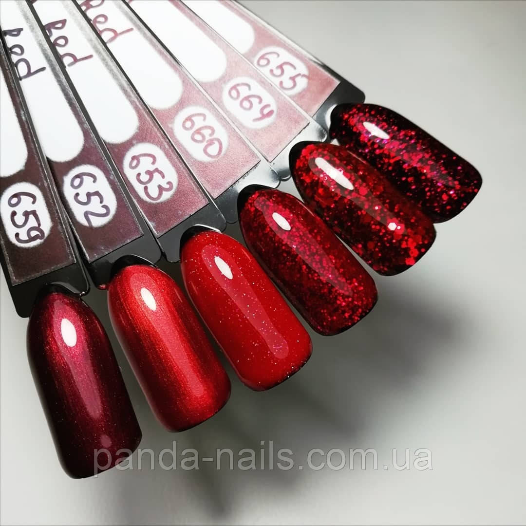 "Гель лак Global Fashion ""Sexy Red"", 8мл"