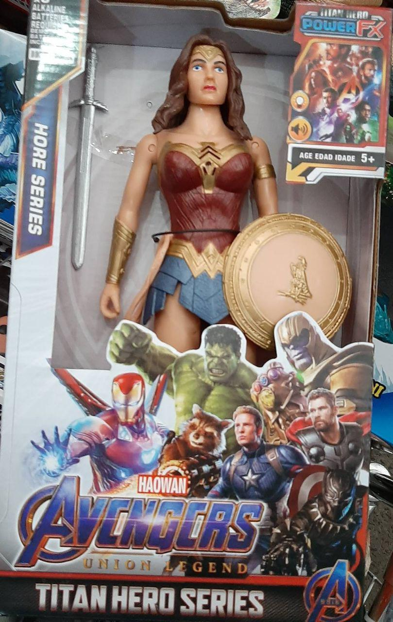 Большая фигурка супер-героя Марвел Чудо женщина Marvel 29см