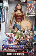 Большая фигурка супер-героя Марвел Чудо женщина Marvel 29см, фото 1
