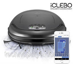 Робот пылесос iClebo O5  Оригинал Корея ! Гарантия 12 месяцев сухая+влажная уборка