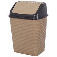 Корзина для мусора Violet House 0752 Роттанг Caramel 10 л