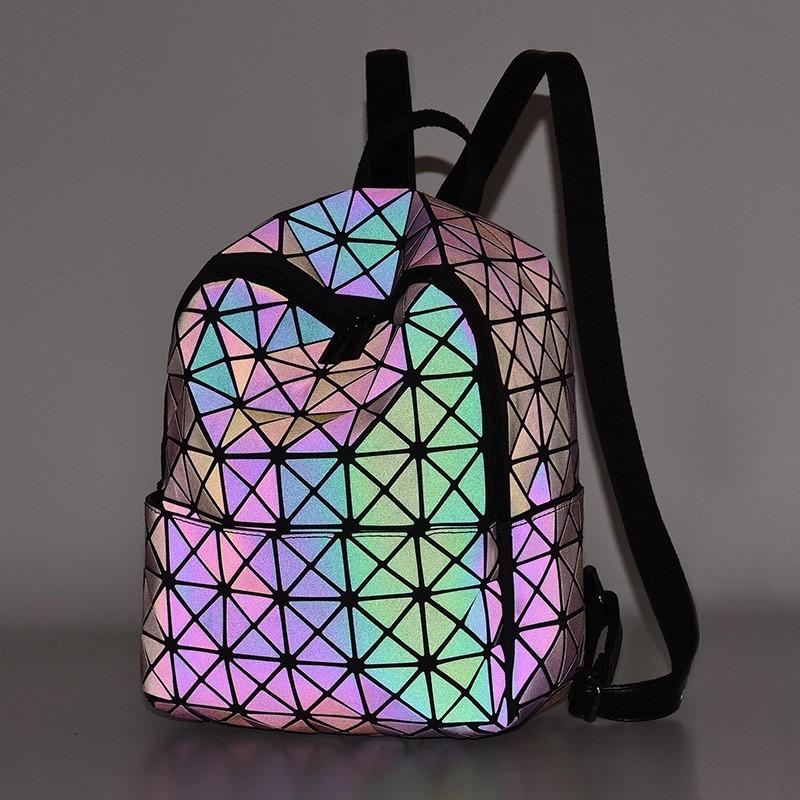 Рюкзак Бао Бао школьный, геометрический Bao Bao Issey Miyake Chameleon Night 3041