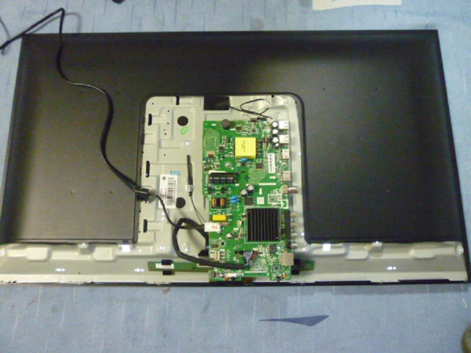 Платы от LЕD TV Bravis LED-32D5000 Smart+T2 black поблочно (матрица нерабочая).