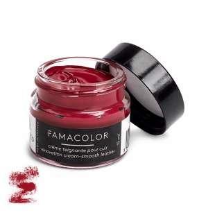 Жидкая кожа цвет светло-красный  для обуви и кожаных изделий Famaco Famacolor, 15 мл