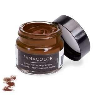 Жидкая кожа цвет коричневый  для обуви и кожаных изделий Famaco Famacolor, 15 мл