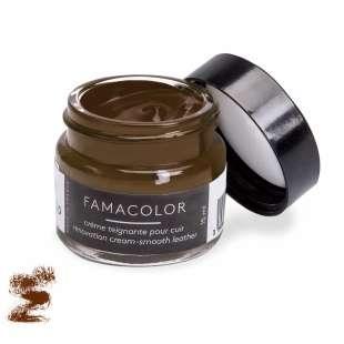 Жидкая кожа цвет каштановый  для обуви и кожаных изделий Famaco Famacolor, 15 мл