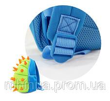 Дитячий рюкзак Nohoo Шипастик Синій (NH022 Blue), фото 3