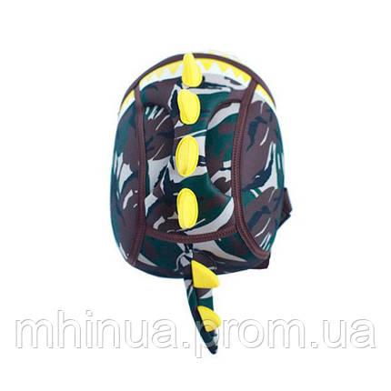 Дитячий рюкзак Nohoo Dinosaur Style Дракон (NH023S Khaki), фото 2