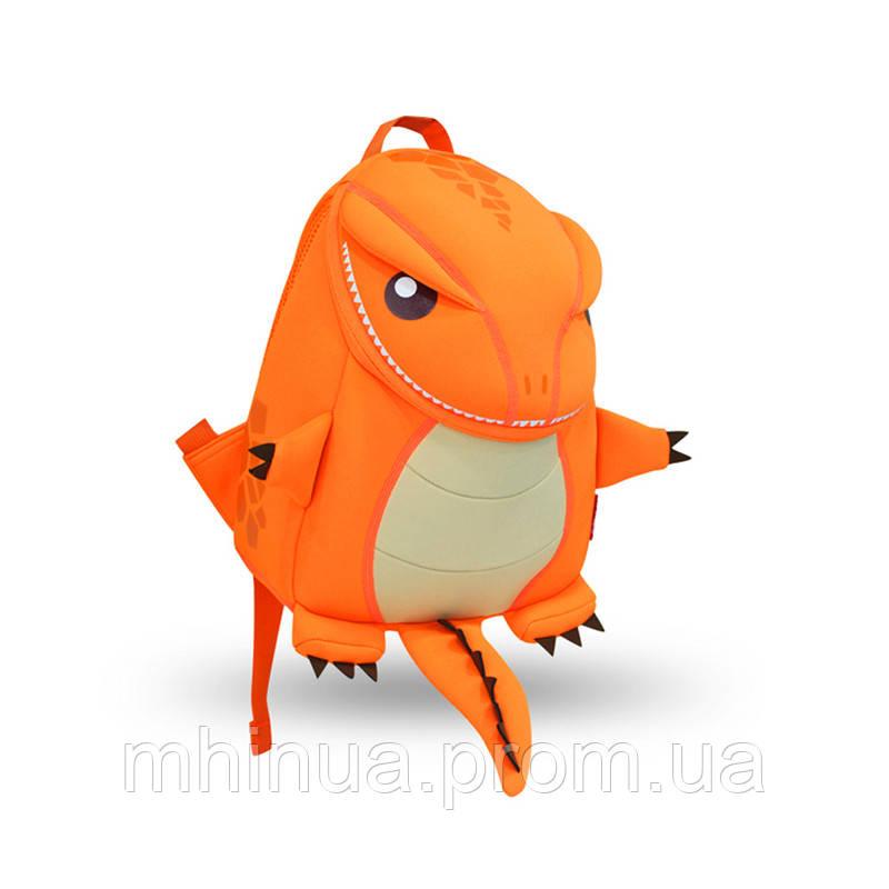 Детский рюкзак Nohoo Tyrannosaurus Style Тиранозавр Рекс, Большой размер (NH029L Orange)