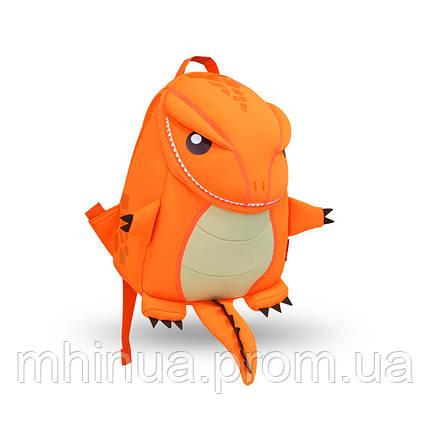 Детский рюкзак Nohoo Tyrannosaurus Style Тиранозавр Рекс, Большой размер (NH029L Orange), фото 2