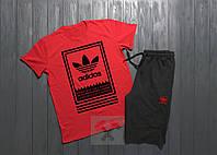Мужской комплект футболка и шорты, брендовый, хлопок высокого качества, все размеры (копия)