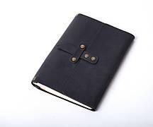 Кожаный блокнот Nota5 Черный