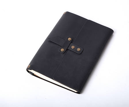 Кожаный блокнот со сменным блоком ручной работы А5 ¨Nota5¨, фото 2