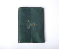 Кожаный блокнот с гравировкой (опционально) со менным блоком А5 ¨Nota5¨, фото 3