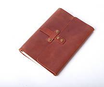 Кожаный блокнот Nota5 Янтарный