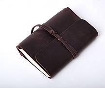 Кожаный блокнот Nota6 Коричневый